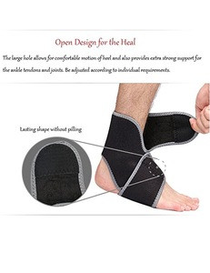 Adjustable Neoprene Ankle Support For Athletics
