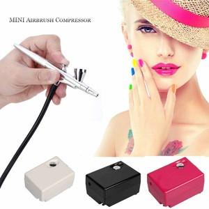 Airbrush Makeup Kit Mini Air Compressor Single Face Body Paint Nail Art Brush
