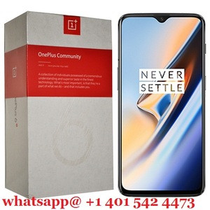 Answering Machines 2018 OnePlus 6T Dual Sim A6013 256GB 128GB 64GB 8GB Ram Midnight BlacK 4G