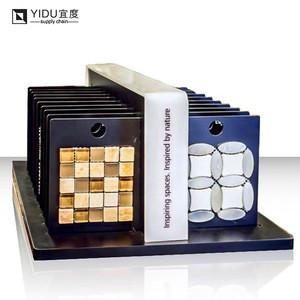 Best price for ceramic quartz stone tile display rack porcelain floor tile artificial stone ceramic wall tile display stand