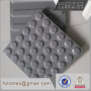 Chinese grey porcelain tactile tile floor price in dubai