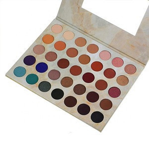 Cosmetic Glitter Eyeshadow Palette 35colors private label eyeshadow palette