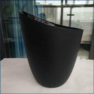 Custom logo imprint PP plastic ice bucket , 3L ice bucket