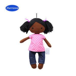 Factory personalized cloth dolls stuffed custom plush rag doll