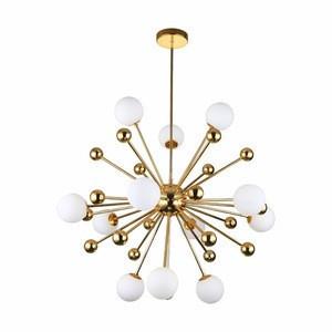 Fancy Ceiling Lights Glass Chandelier, Decoration Indoor Pendant Hanging LED Light