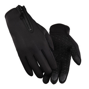 Fast supply speed motorcycle gloves winter polyester winter working gloves cycling gloves winter