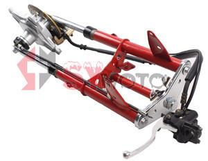 Fork lift bicycle kork kit dax monkey brake system