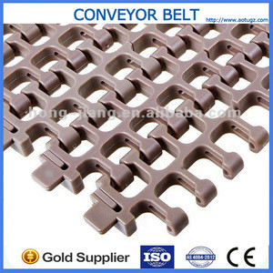 H2200 Plastic Flat Modular conveyor radius belt