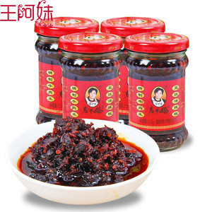 High quality best selling glass bottle chili bean sauce