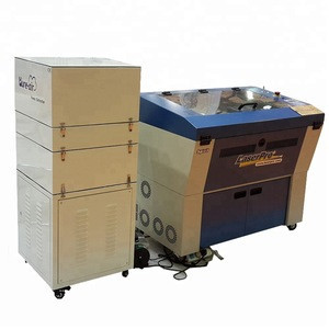Hot Sale CO2 Laser engraving machine 750W fumes Extractor