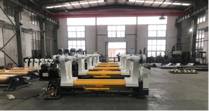 Hydraulic shaftless mill roll stand in packaging line/ automatic packaging machine