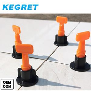 KEGRET hot selling plastic 75pcs flat tile leveling system positioning