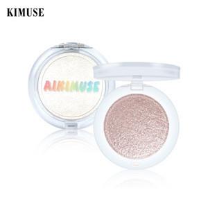 KIMUSE Powder Highlight Face Contour Long-lasting Brighten Bronzer Makeup Shimmer Highlight Palette Face Makeup Cosmetics