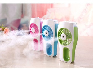 Mini Portable Fan with Cold Steam