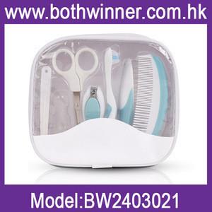 nail care materials kids gift pack,KA086,baby grooming kit hair brush and comb