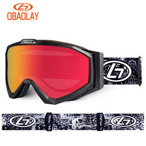New arrival Obaolay Cylinder ski goggles snowboarding eyes protection skiing glasses customized goggles ski