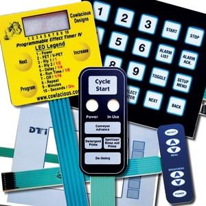 OEM Small Order Custom Numeric Keypad Touch Button Parts Fuel Dispenser Keypad