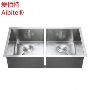 Restaurant Kitchen Water Stainless Steel Wash Basin Sink For Sale