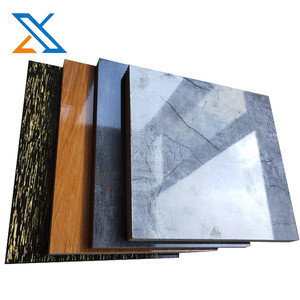Solid color Melamine Particle board/Melamine Chipboard from China for South Africa market