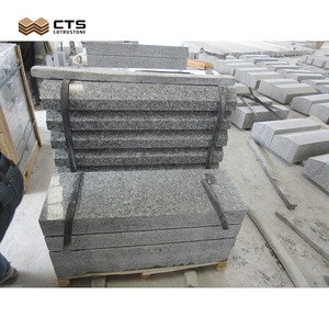 Solid Polish Surface Granite Straight Curb Stone