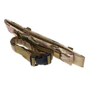 Tactical 25 Gun Shell Bandolier Belt 12 Gauge Ammo Holder Military Shooting Cartridge Belt Hunting Accessories