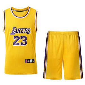 Various Colors High Quality Men Basketball Uniform Breathable Custom Basketball Jerseys Uniforms