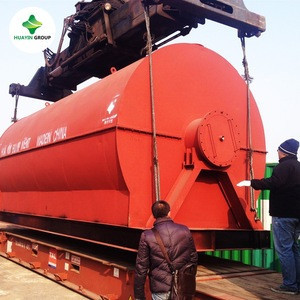 Waste tire pyrolysis plant/used tyre recycling machine to fuel oil