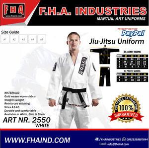 Wholesale martial arts / Martial arts wear uniform