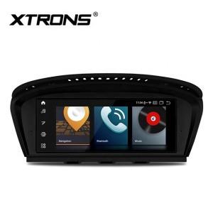 "XTRONS 8.8"" car radio with Screen Mirroring Function, car cd player for BMW 5 series E60 E61 E63 E64 CIC system"