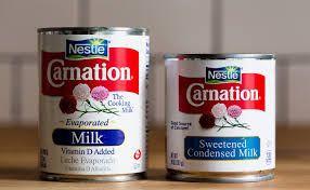 Condensed and Evaporated Milk