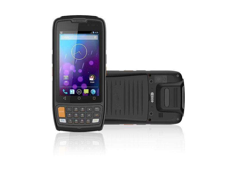 4 inch android handheld PDA rugged barcode scanner
