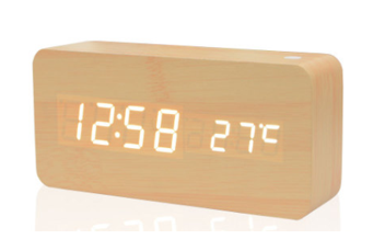 Environmental Friendly Wooden Clock S-106