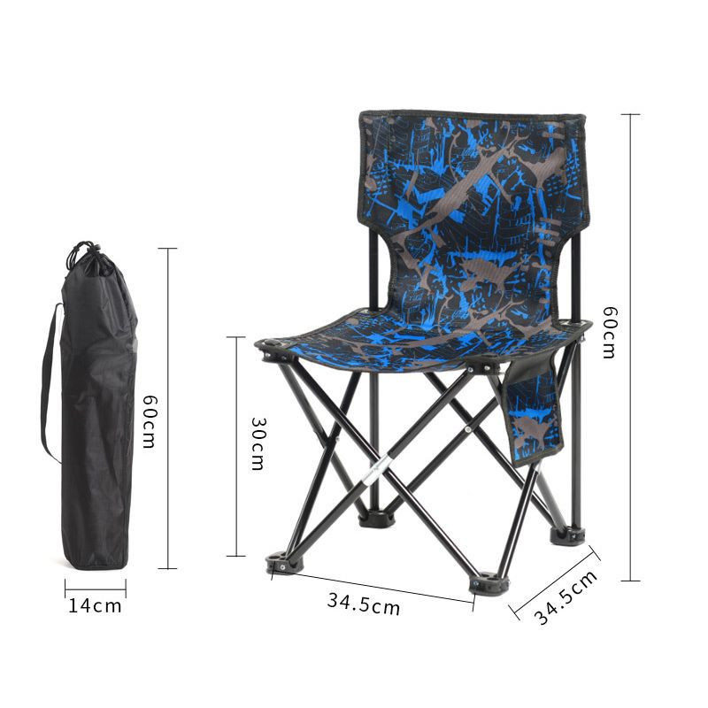 Outdoor portable folding chair