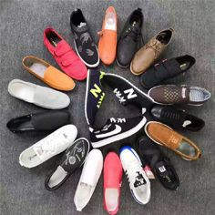 Surplus shoe sneakers in stock competitive price with premium quality
