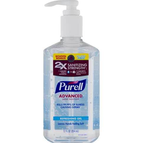 PURREL HAND SANITIZER
