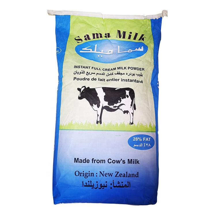 25Kg Bag Sama Brand Instant Full Cream Milk Powder