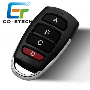 315/433mhz 4 buttons Remote Control For Door and Motorcycles