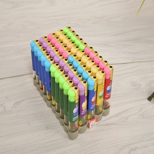 7.8cm Refillable  Electronic Plastic  Lighter with Wrapper Paper