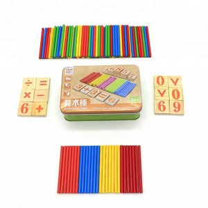 Baby Toys Wooden Counting Sticks early Education Wooden for Child Math toys