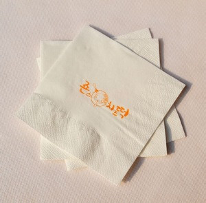 Bamboo Cocktail Napkins - 100% Bamboo Linen-Feel - Eco and Environment Friendly - 150 Pack Natural Fibers Perfect For Upscale