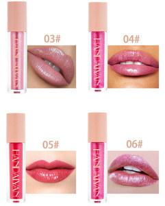 Best Selling Lip Gloss Multi Color High Glitter Pigment Makeup Cosmetic Shiny