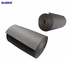 Black blue white EPDM geomembrane 0.3-3mm rubber pond liner