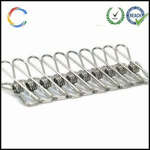 Cheap Price Stainless Steel garment Clip convenient clip from China