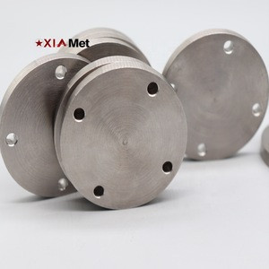 China Factory supply metal high purity high density high precision tungsten machined parts for sale