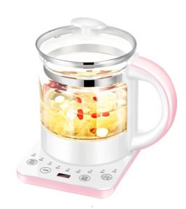 Food Grade Low Wattage Heater Pot Electric Kettle Pink Water 1.8l