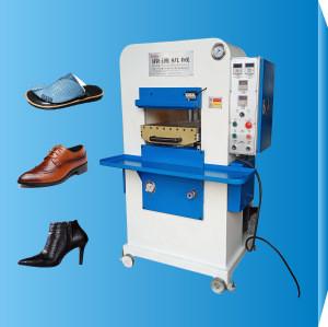 Footwear Making Machine Semi-Automatic Hydraulic Perforating &Embossing  Machine