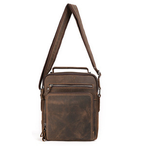 Get $600 Coupon Messenger Bag Crossbody Men's Messenger Bags Genuine Leather Messenger Bag For Men