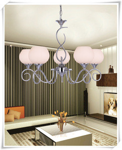 Glass lamp shade special bend tube 220v chandeliers pendant lights ceiling lights