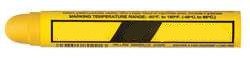 H7745 Paint Crayon 11/16 In. Yellow PK 12