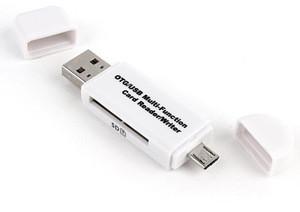 High Speed OTG Card Reader Writer Micro/USB 2 in 1 Multi Function Card Reader
